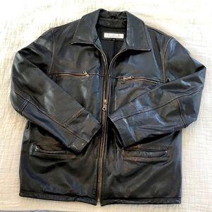 CMM   Men's Soft Leather Lined Jacket Medium
